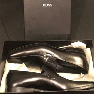 New in Box Men's Hugo Boss Saturn Leather Loafers